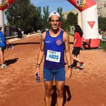 David Francés, vencedor absoluto en el Trail Subida a la Casica del Guardia